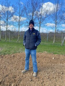 Paul Harrison, Vineyard Apprentice