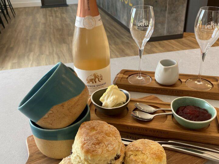 Saffron Grange Cream Tea